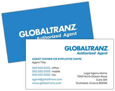 Business Cards | Authorized Agent