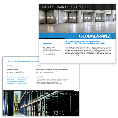 Brochure | Supply Chain Solutions | Custom
